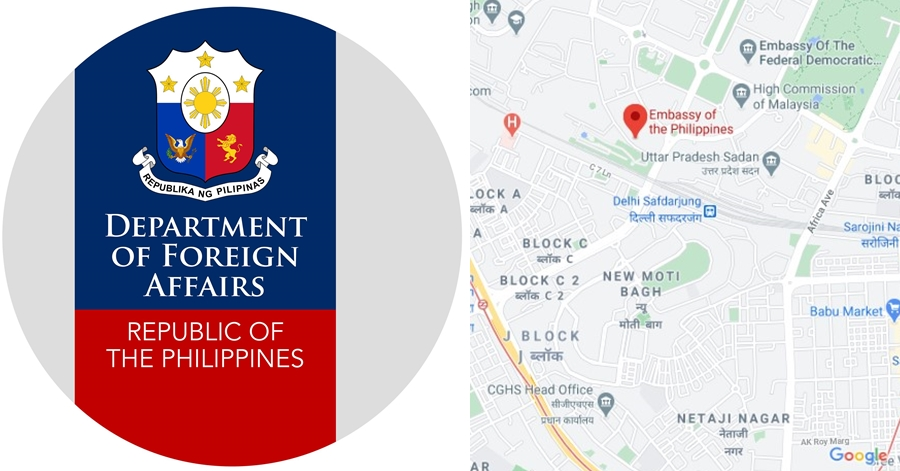 Philippine Embassy In New Delhi India The Pinoy Ofw