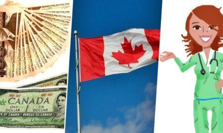 canada nurse salary benefits