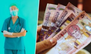 monthly salary of a nurse in oman