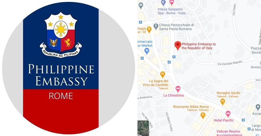 Philippine Embassy in Rome, Italy