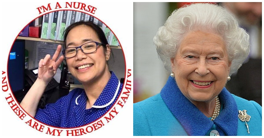 [PINOY PRIDE] Pinay Nurse in UK Recognized Among Queen Elizabeth II's New Year Honor List