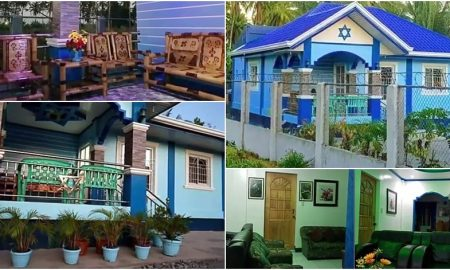 Israel-based OFW Builds Beautiful House in the Philippines