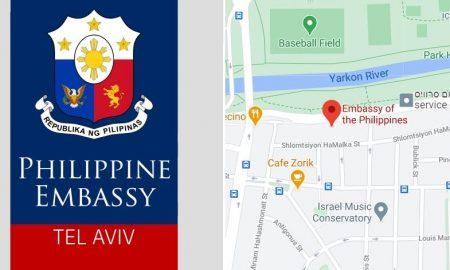 philippine embassy in tel aviv israel