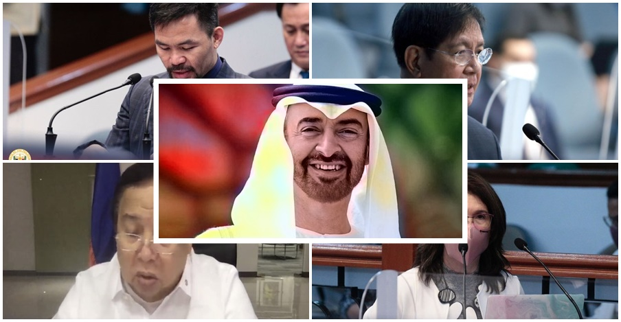 Senators Express Gratitude to UAE Head for Continued Support and Aid in Times of Crisis