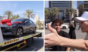 Video: Supercar Blondie Surprises Filipino with Brand New Car