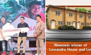 Former OFW Wins Brand New House and Lot