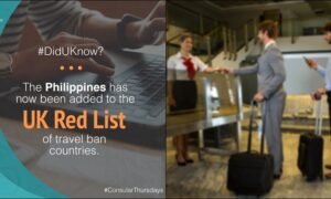 PH, 3 Other Countries Included in Britain's 'Red List'