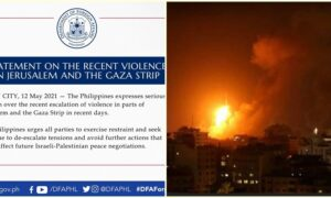 DFA Reports No Filipino Casualties In Ongoing Israeli-Palestinian Hostilities, Says Contingency Plans Ready