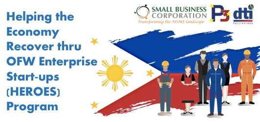HEROES Loan Program for OFWs up to PHP 100,000