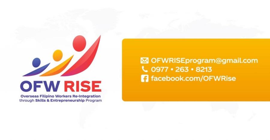 OFW RISE - Free Entrepreneurship Program for Returning OFWs