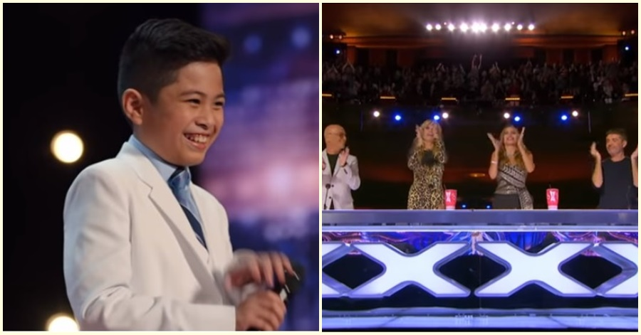 UAE Pinoy Kid Impresses Judges in America's Got Talent Auditions