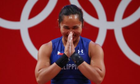 Hidilyn Diaz Bags PH First-Ever Olympic Gold