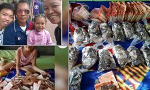 ofw filipina surprised by husband savings